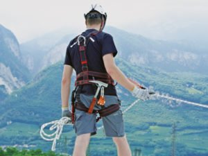 Fall protection Harnesses and Lanyards