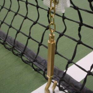 Tennis centre band brass swivel