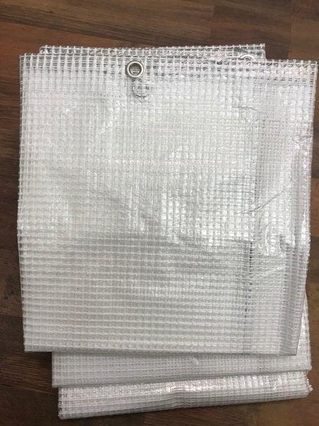 Flexi Tarp Standard reinforced clear tarpaulin