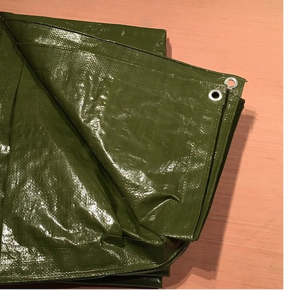 Super Tarp Standard green tarpaulin