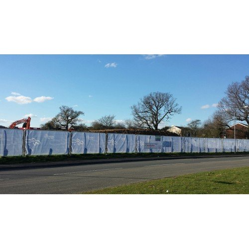 Branded Temporary Heras Fence Covers