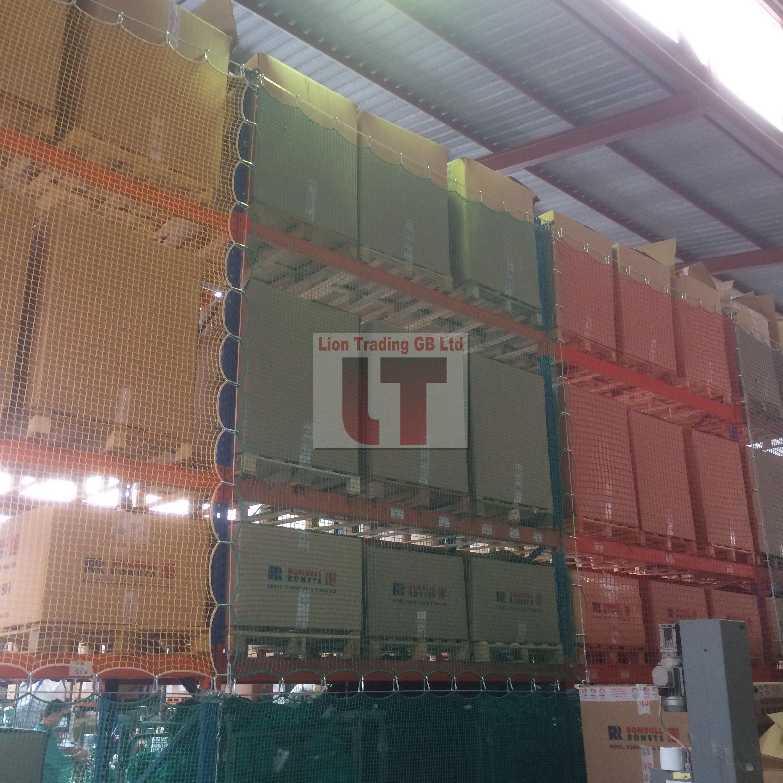Pallet Rack Netting System | Lion Trading GB Ltd