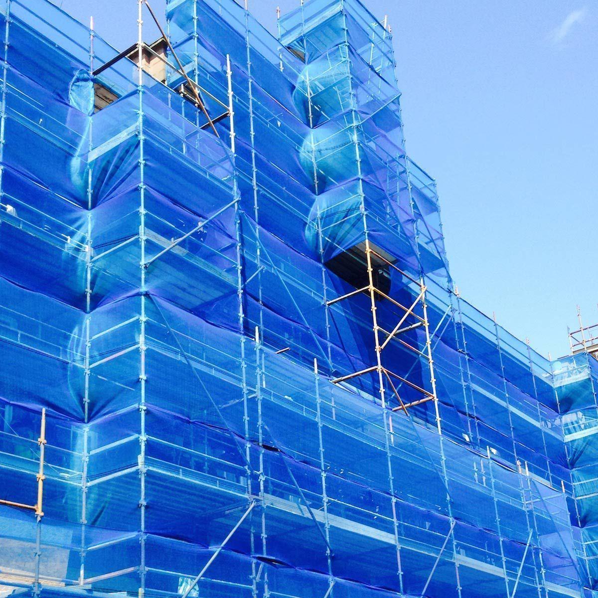 Debris Net Blue