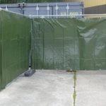 Heras fence tarpaulin covers 1.76m x 3.41m