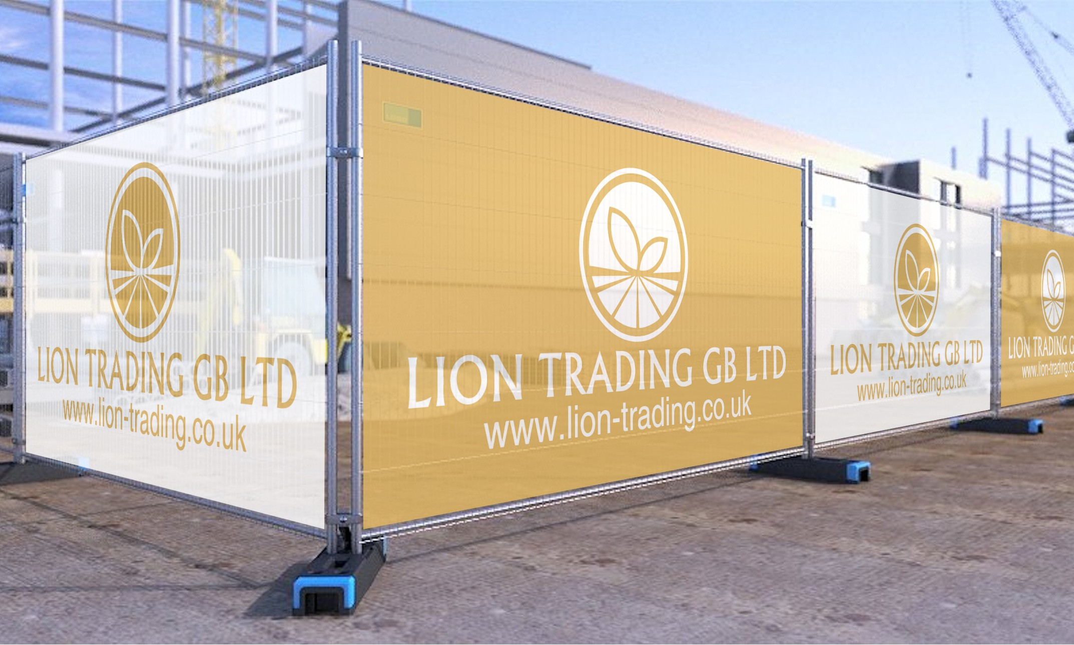 Lion Fence covers