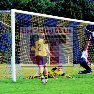 Continental style football nets