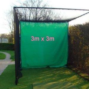 Golf impact archery net