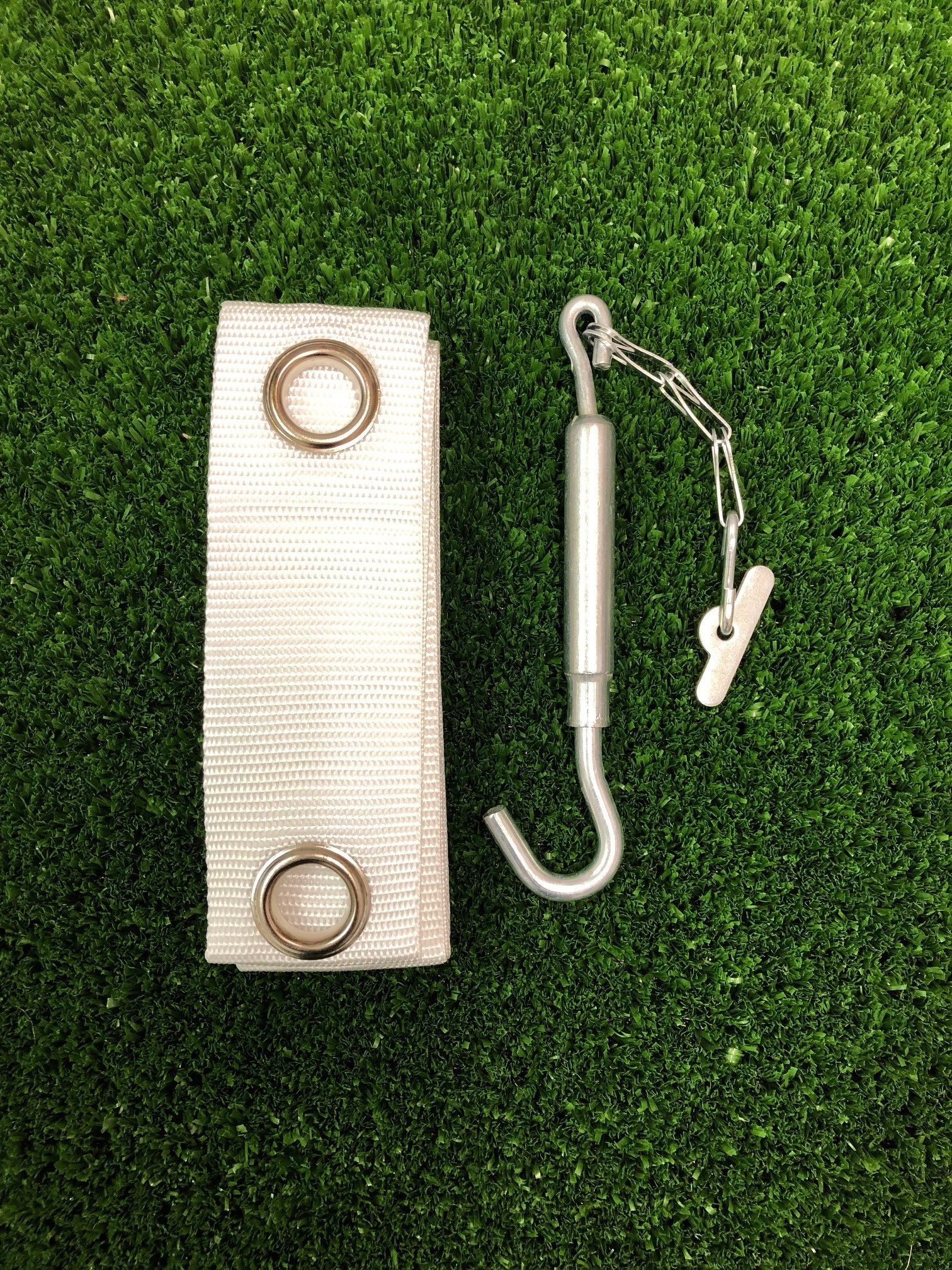 Tennis Centre band and Galvanized swivel