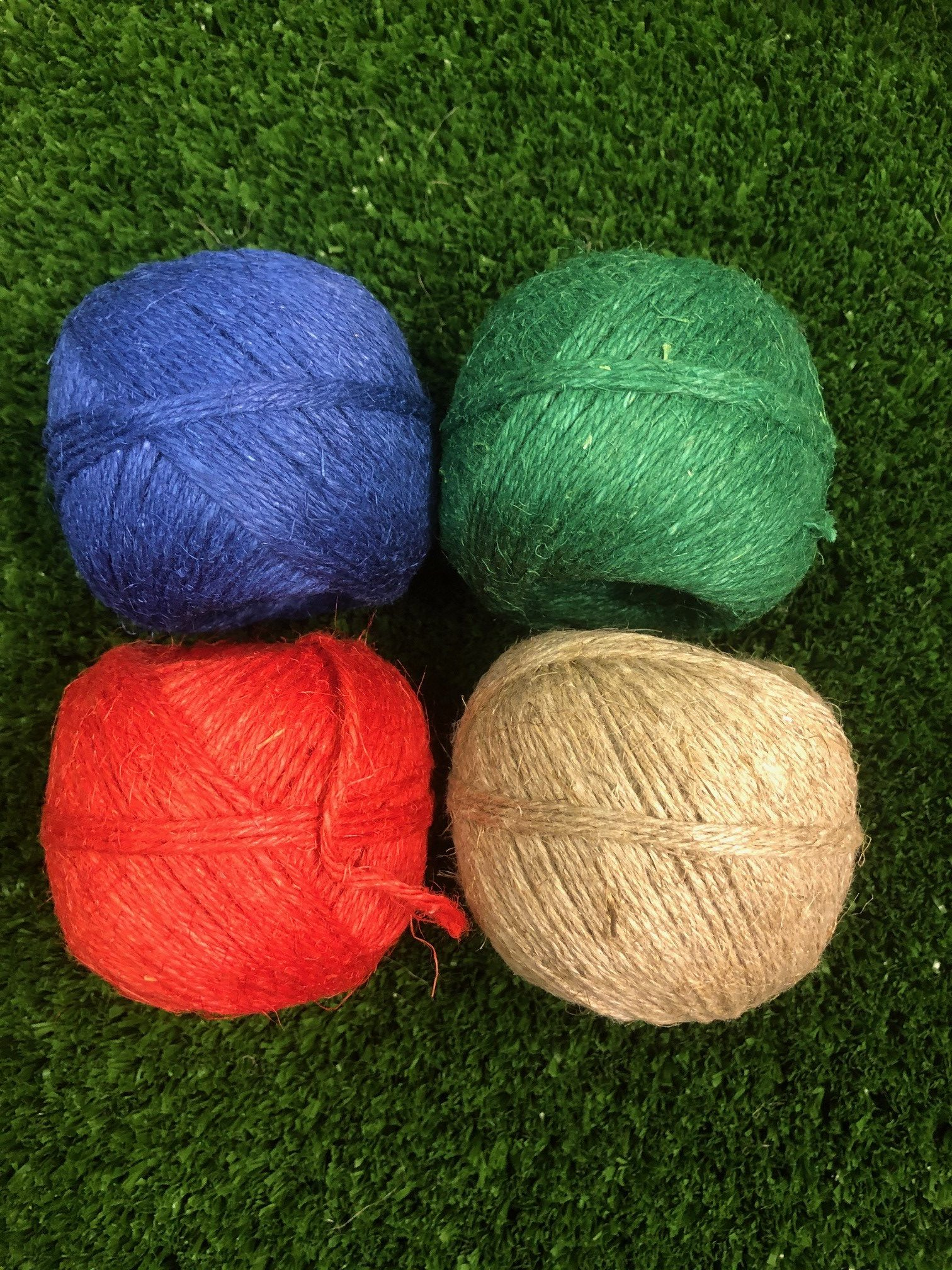 Natural linen string 4 colours