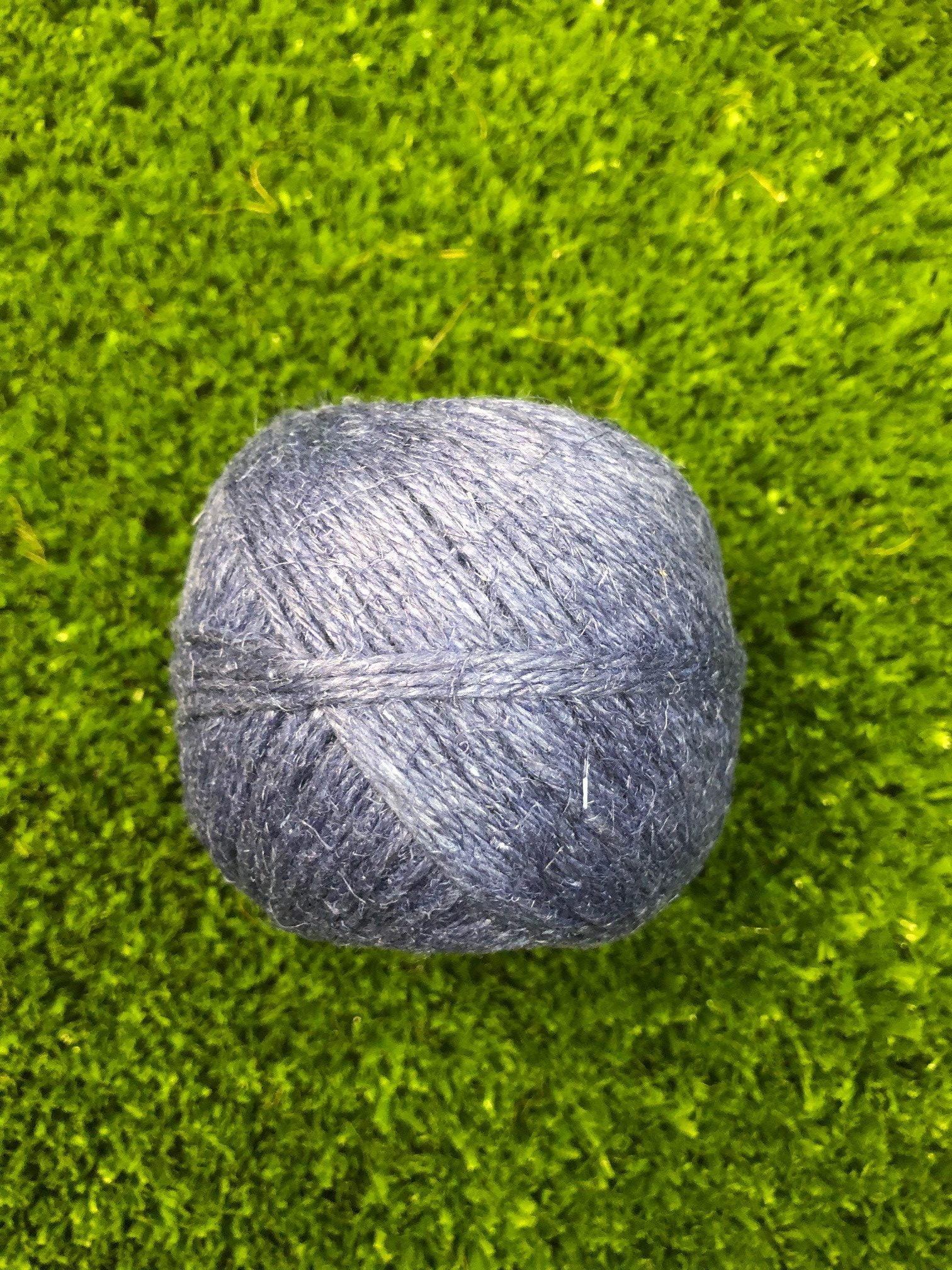 linen string Blue