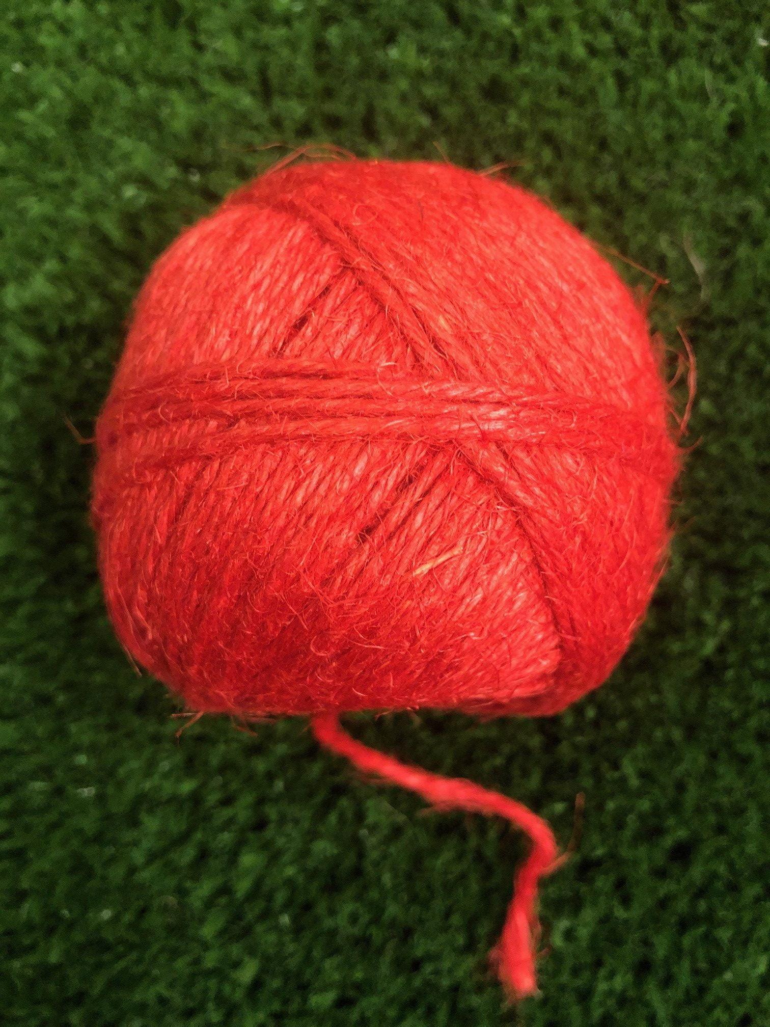 linen string Red