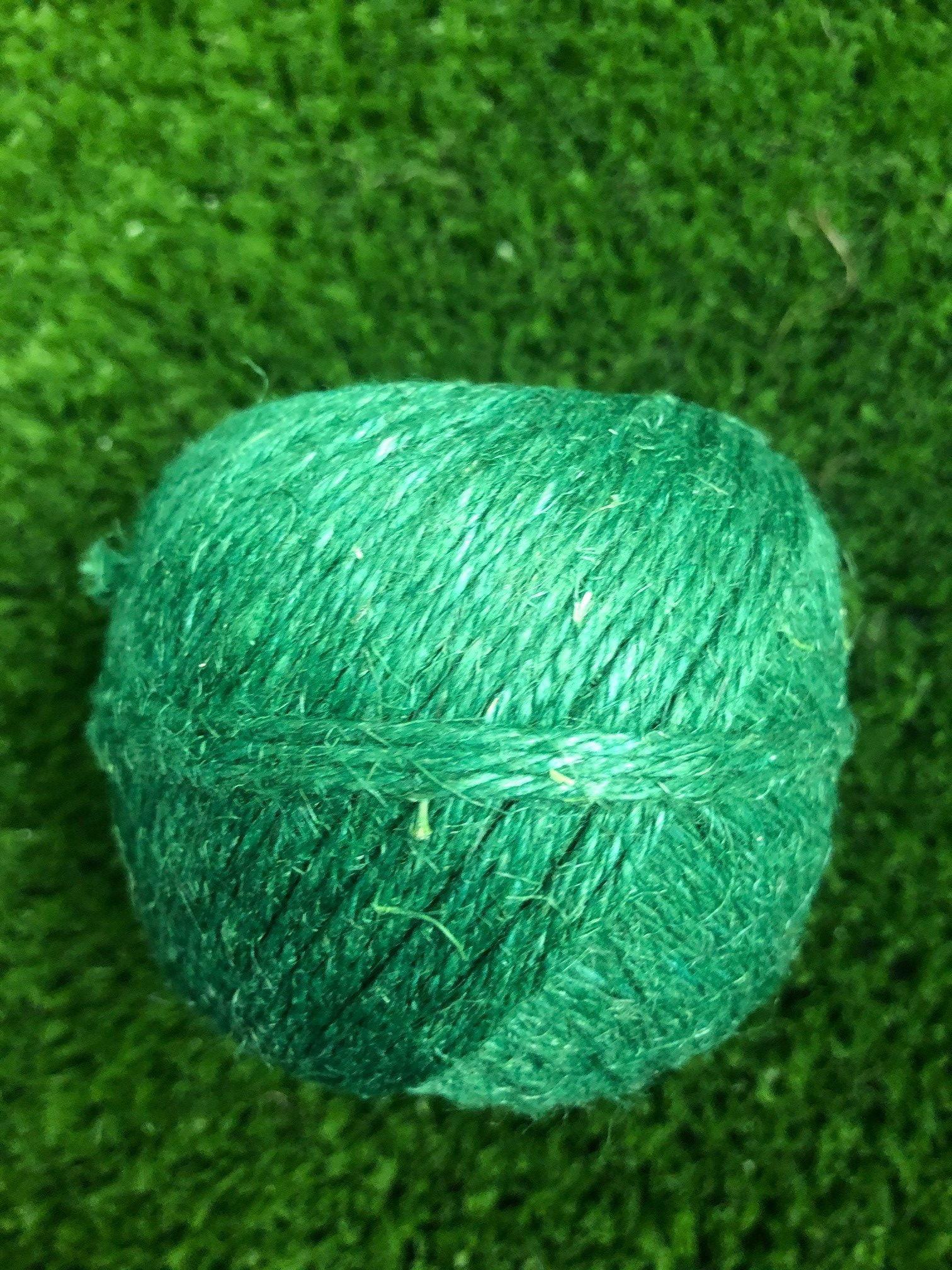 linen string green