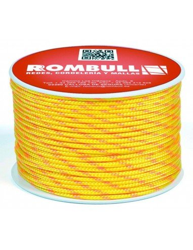 yellow fluorescent rope
