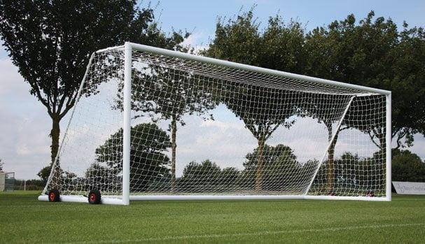 International style fotball nets